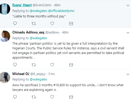 Wale Gates points out how Davido is flouting NYSC rules and is liable to be penalized for 3 months
