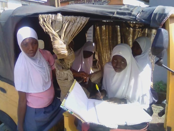 Muslim group kicks as Lagos Principal suspends five students for wearing hijab to school (photo)