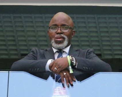 Amaju Pinnick becomes the first person to win a second consecutive four-year term?as NFF president