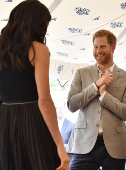 Meghan Markle gives incredible speech at charity cookbook launch as Prince Harry looks on proudly (video)