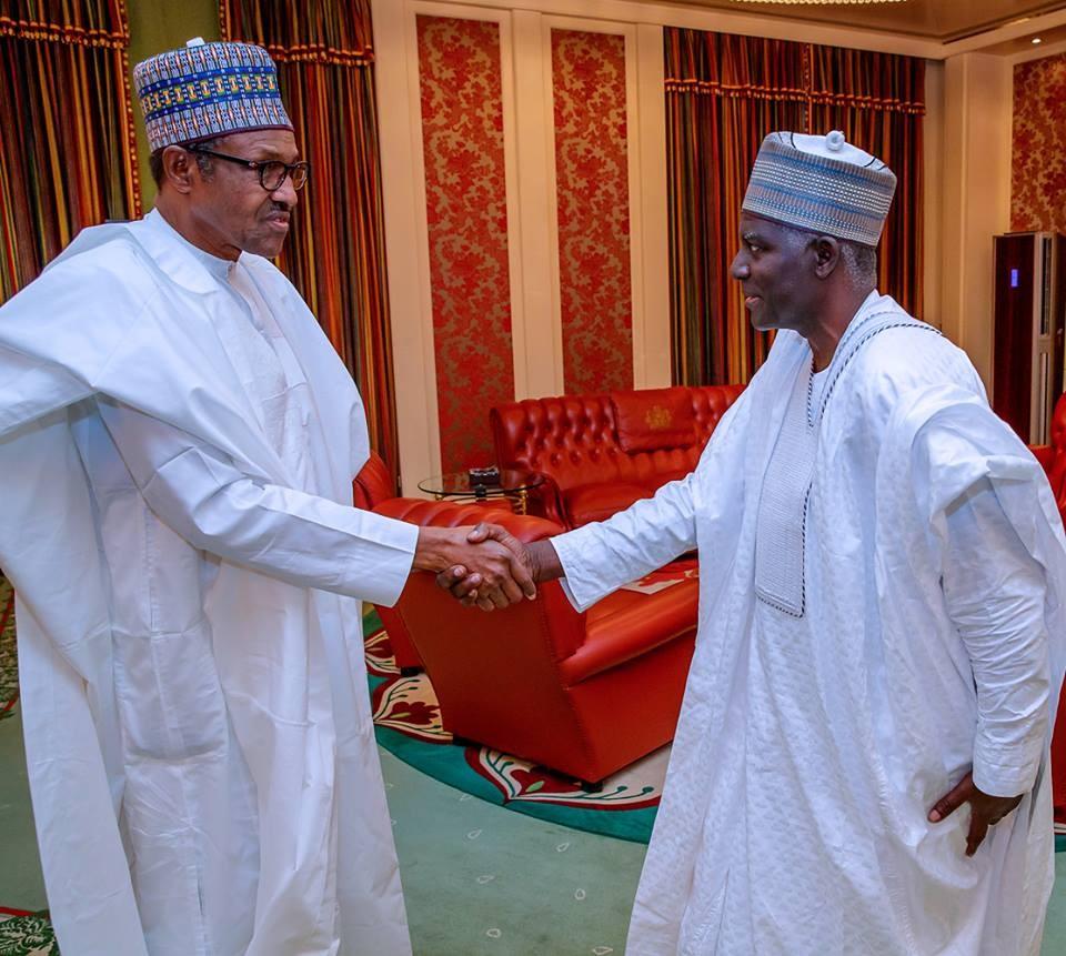 Photos:?President Buhari meets newly appointed DG of DSS, Yusuf Magaji Bichi