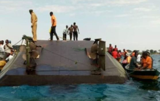 44 people die and scores missing as ferry capsizes in Lake Victoria