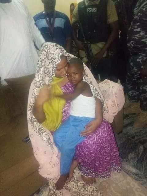 Photos: Kidnapped son of Borno APC chairman, rescued