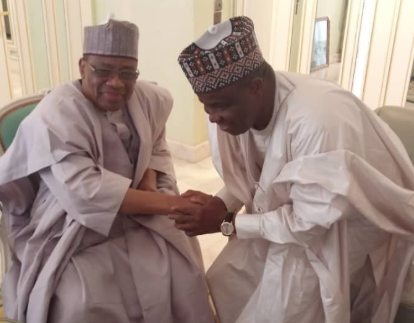 Photos: Gov Tambuwal also pays consultation visit to IBB ahead of 2019 election