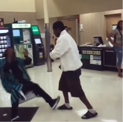 Watch the moment a comedian got brutally knocked out by a Grocery Store Customer in a prank gone wrong?