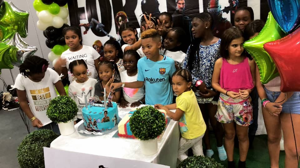 Photos from Peter Okoye's son, Cameron's 10th birthday party
