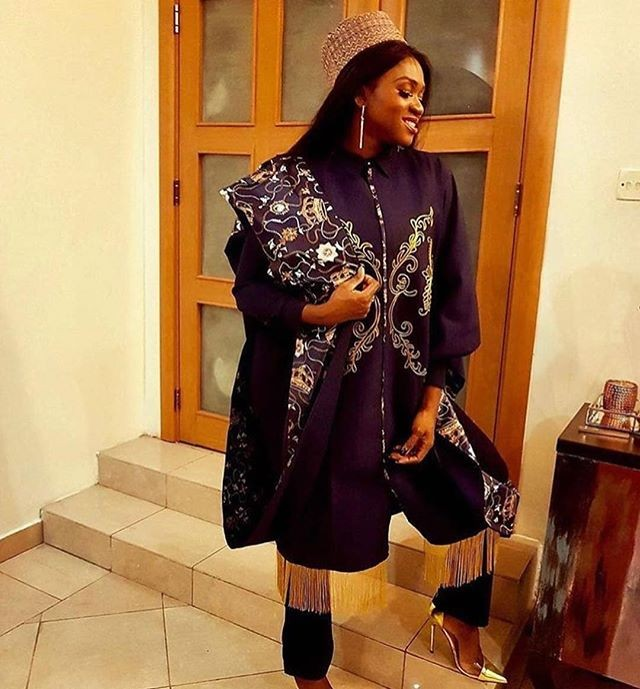 Who wore it best? Female celebrities in agbada at the