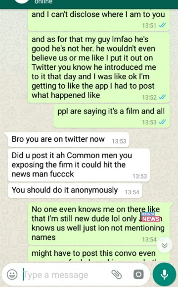"""Twitter Stories: Panic as """"ghost"""" sidechic disappears inside a Lagos office when the boss"""