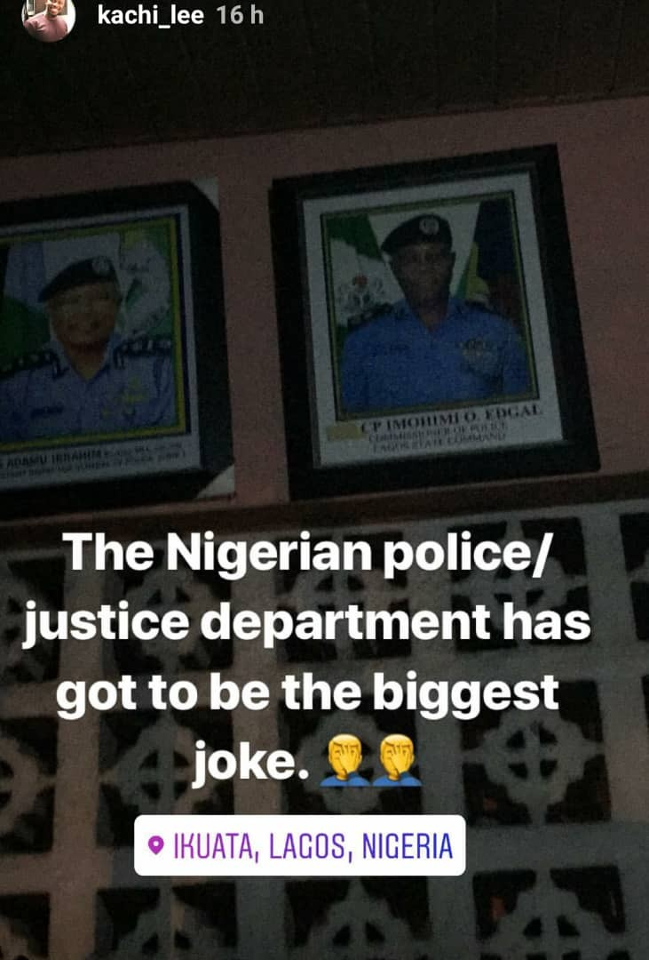 Nigerian man in shock after the thief he reported to the police ran out of the station without being apprehended