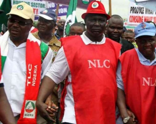Breaking:?NLC to begin nationwide strike on Thursday over minimum wage