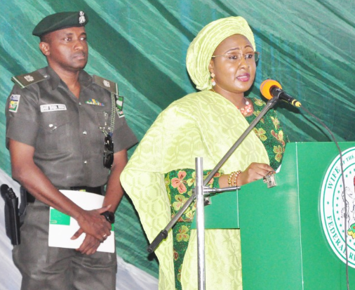 N2.5bn fraud: Aisha Buhari releases official statement on the arrest of her ADC, says she has no hand in it
