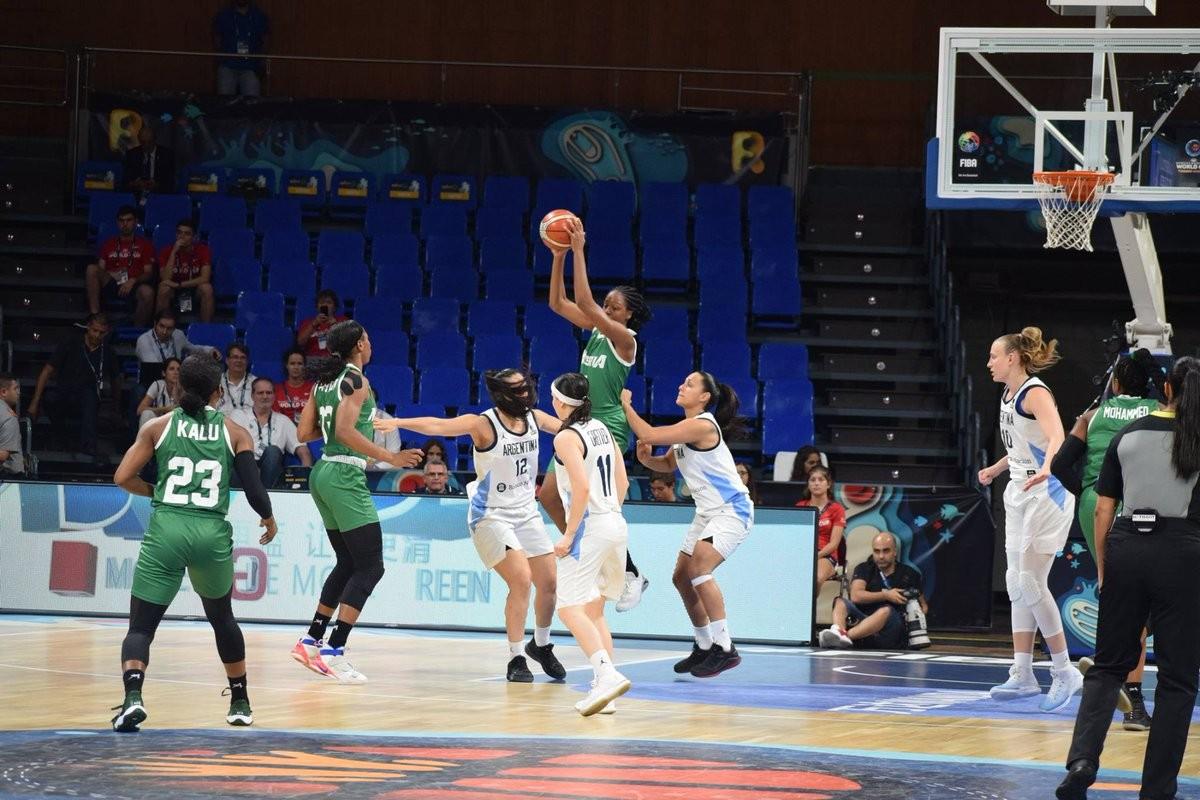 Nigeria defeat Argentina to qualify for quarter-final at FIBA Women