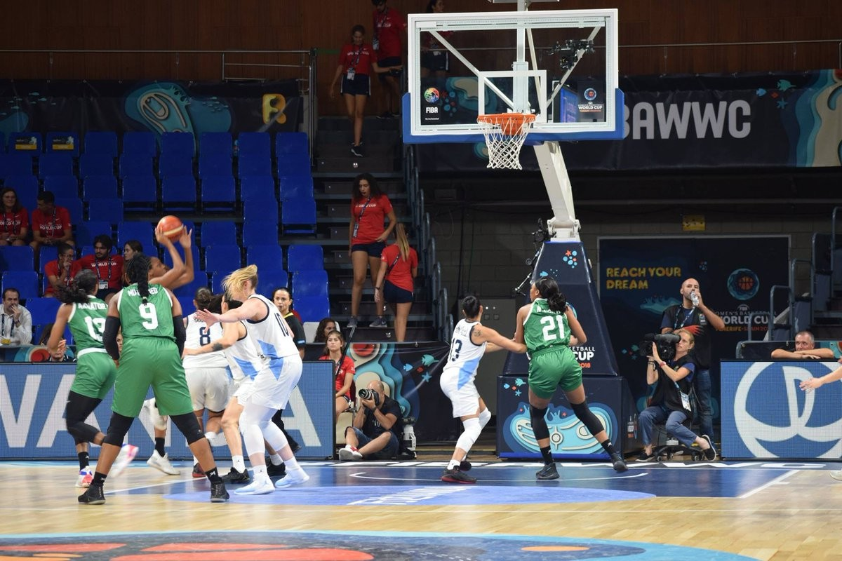 Nigeria defeat Argentina to qualify for quarter-final at FIBA Women