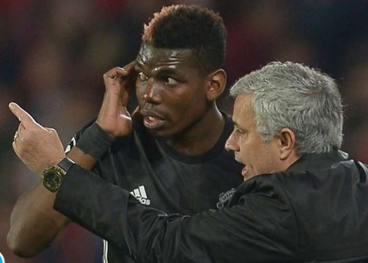 The fight gets messier as Jose Mourinho removes Paul Pogba as vice-captain of Manchester United