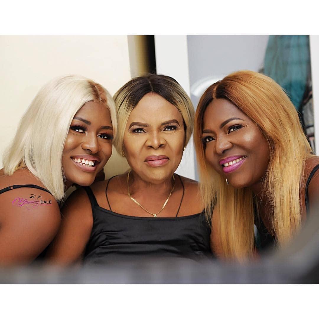 Three generations of beauty! Lovely photos of BBNaija