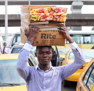 Gala seller who gave all his goods to prisoners in Lagos, reveals he was once a prisoner as he shares his touching story