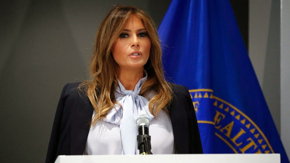 United states first lady Melania Trump, ready to visit Africa for the first time.