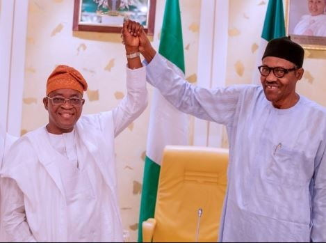 President Buhari congratulates Osun State governor-elect, Gboyega Oyetola