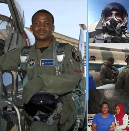 Photos of the Nigerian Air Force pilot killed in the Abuja crash