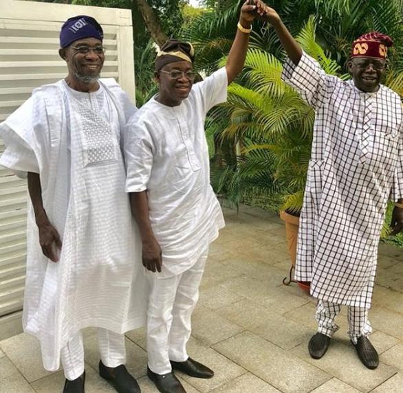 Osun state governor-elect, Oyetola pays Bola Tinubu a courtesy visit