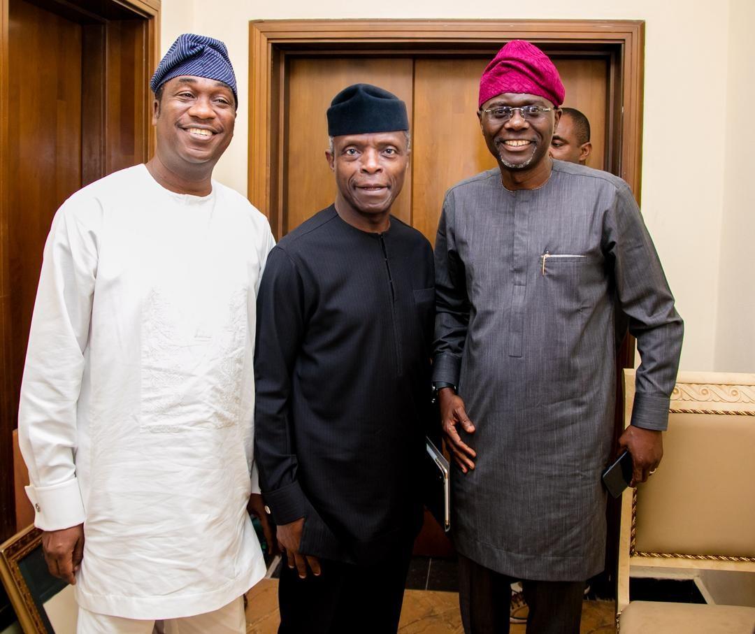 Osinbajo denies reports of endorsing Sanwo-Olu as Lagos APC governorship candidate
