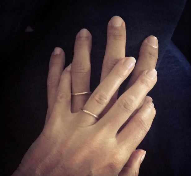 Gwyneth Paltrow confirms marriage to Brad Falchuk by sharing sweet photo of their wedding rings