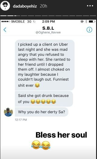 Nigerian Lady angry at MTV VJ Ehiz for refusing to sleep with her, despite getting drunk