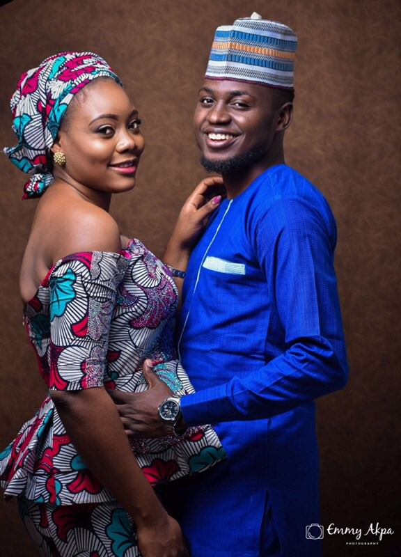 Photos: Nigerian couple who met on twitter three years ago are getting married!