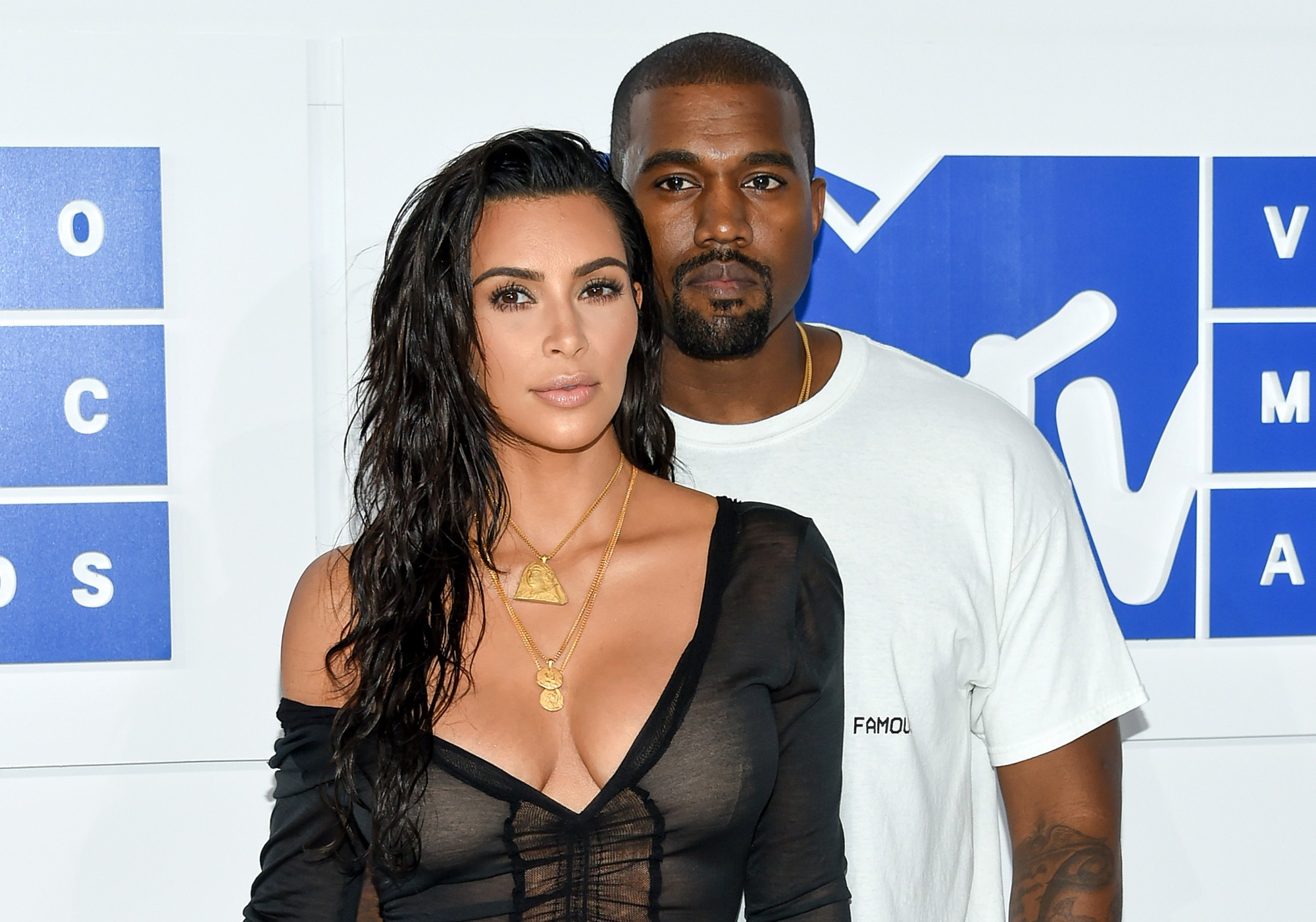 Kim K reveals that she & Kanye West had a fight after he threw a tantrum over the colour of his band-aid (video)