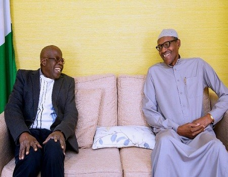 Buhari, Tinubu meet in Aso Rock