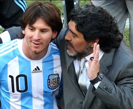 Diego Maradona?advises Lionel Messi to retire from the national team