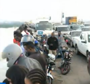 Update on the man who jumped off the 3rd mainland bridge this morning