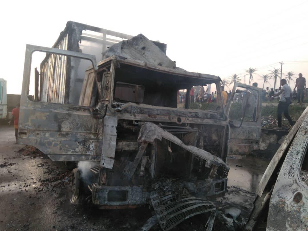 Tanker explosion: