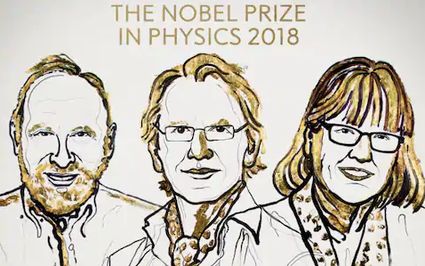 Nobel Prize for Physics won by a woman for first time in 55 years