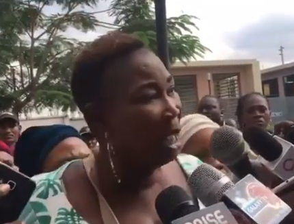 #LagosAPCprimaries: Lady claims  people were beaten for wanting to vote for Ambode in Shomolu(Video)