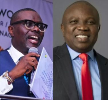 Breaking:?Lagos APC chairman declares?Sanwo-Olu?winner of today