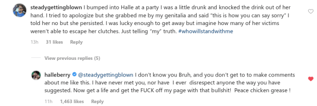 Hally Berry lashes out after man accused her of sexually assaulting him