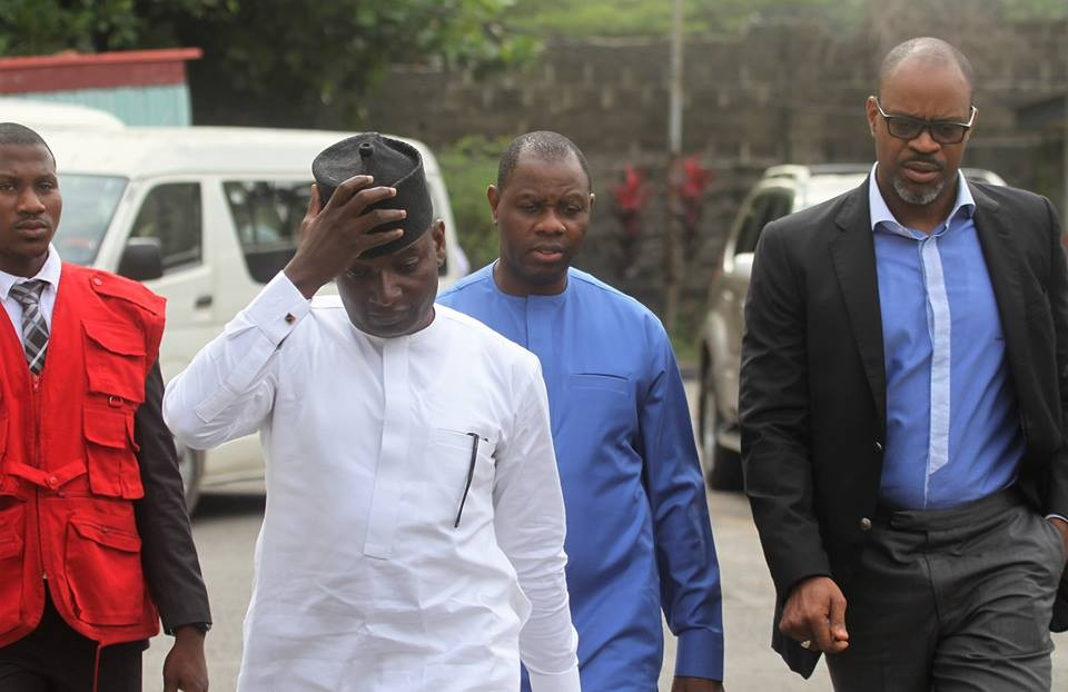 Photos: Saraki?s Chief of Staff, others docked, remanded in Ikoyi Prison over N3.5bn Fraud