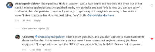 Halle Berry blasts man who claims she sexually assaulted him at a party