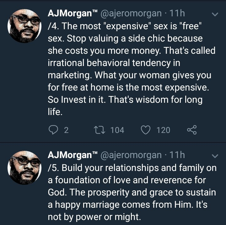 Man who has been married for 15yrs dishes out interesting marriage advice