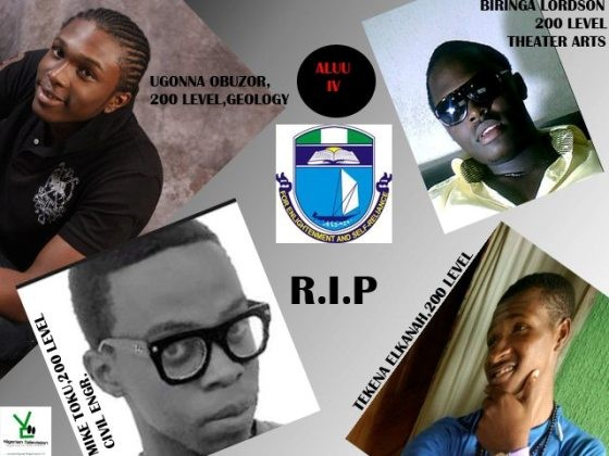 Today is the 6th year death anniversary of Aluu 4 victims
