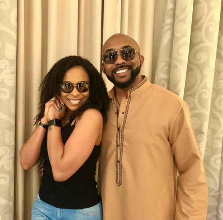 BBNaija star Tboss, warned against snatching Banky W from his wife Adesua, and she fires back