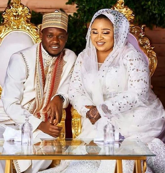 Photos from the traditional wedding of actress Abimbola Ogunnowo to her filmmaker lover, Okiki Afolayan