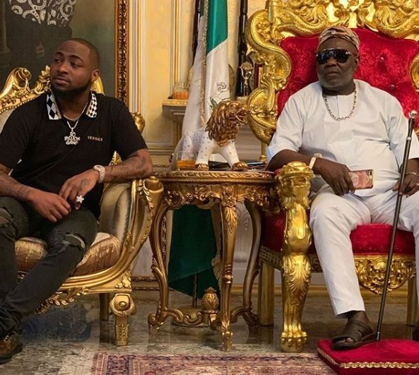 Davido meets Ateke Tom, calls him