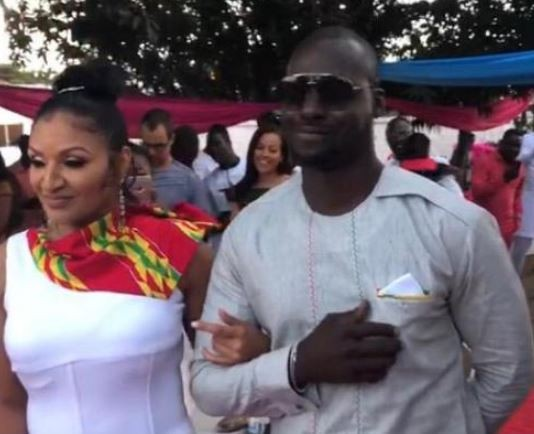Photos: 13-months?after his marriage with Damilola Adegbite crashed, Ghanaian actor Chris Attoh remarries