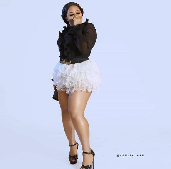 Actress Moyo Lawal shares sexy new photos