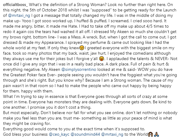 """""""I was a Mess"""" - TBoss reveals how distraught she was the day her sister Wendy broke up with her fiance"""