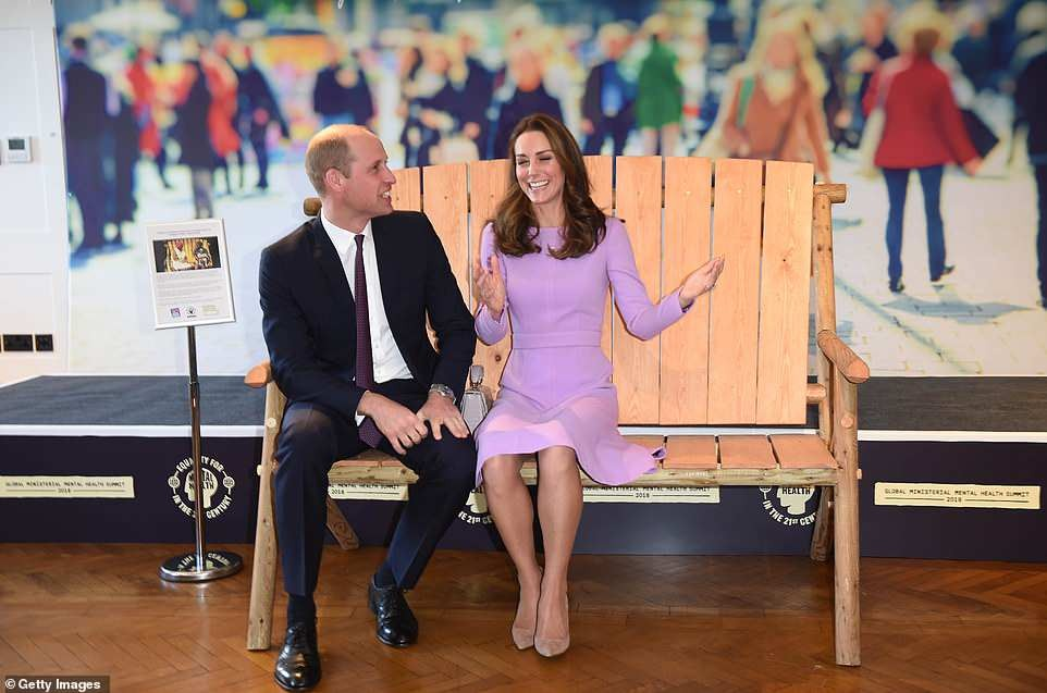 Prince William and Kate Middleton attend mental health conference dressed in the same outfit they wore in 2017