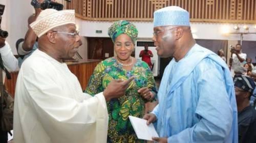 Ex-President Olusegun Obasanjo reportedly plans to endorse Atiku Abubakar