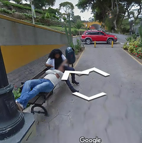 Husband divorces wife after stumbling on her cheating with another man via Google Street View